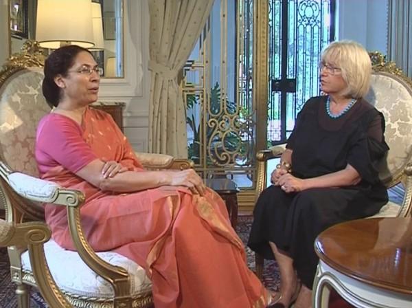 ambasadorka indije, Narinder Čohan