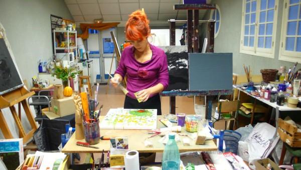 atelje slikarka
