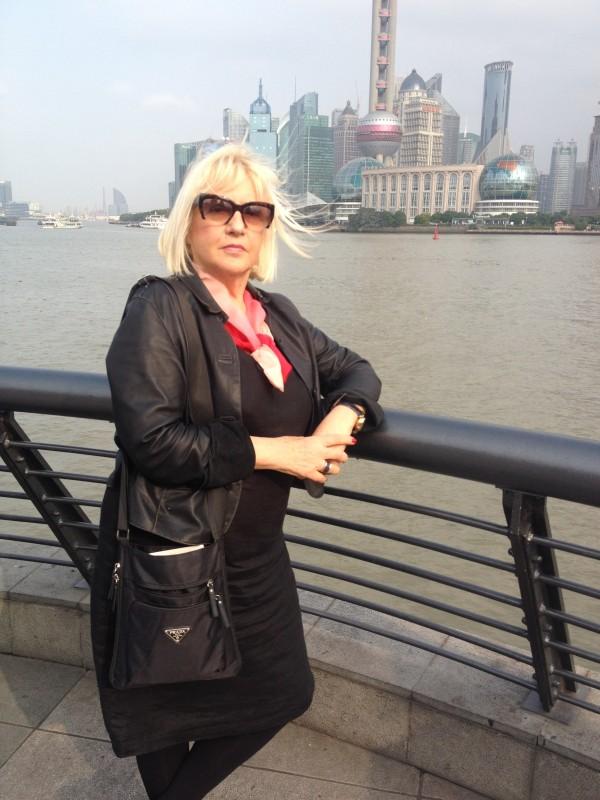 Mira Adanja-Polak u Šangaju