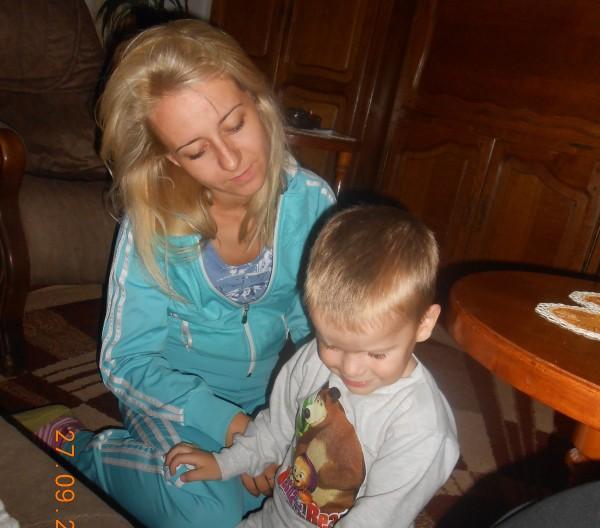 dr Bojana Šrajer sa sinom Lazarom