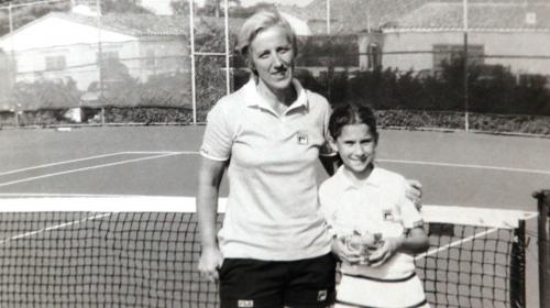 Jelena Genčić sa Monikom Seleš