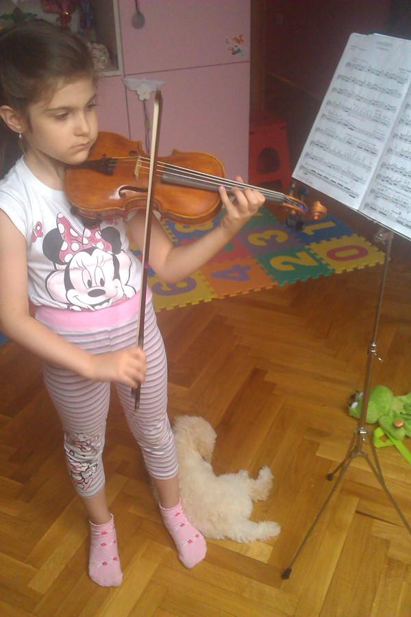 Lana Zorjan, violinistkinja