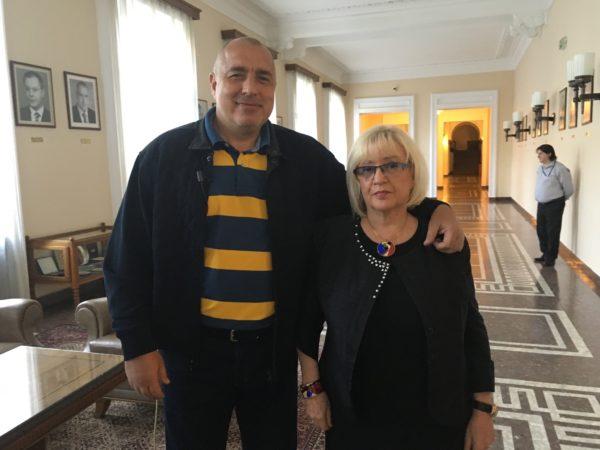 Bojko Borisov, premijer Bugarske, i Mira Adanja-Polak