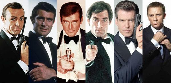 Glumci Džejmsa Bonda
