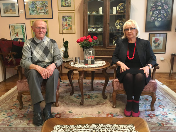 Dr Stanković i Mira Adanja-Polak