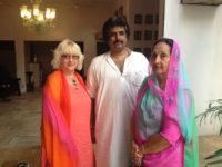 Mira Adanja-Polak u kući maharadže Radžeshavar Sing Sivada