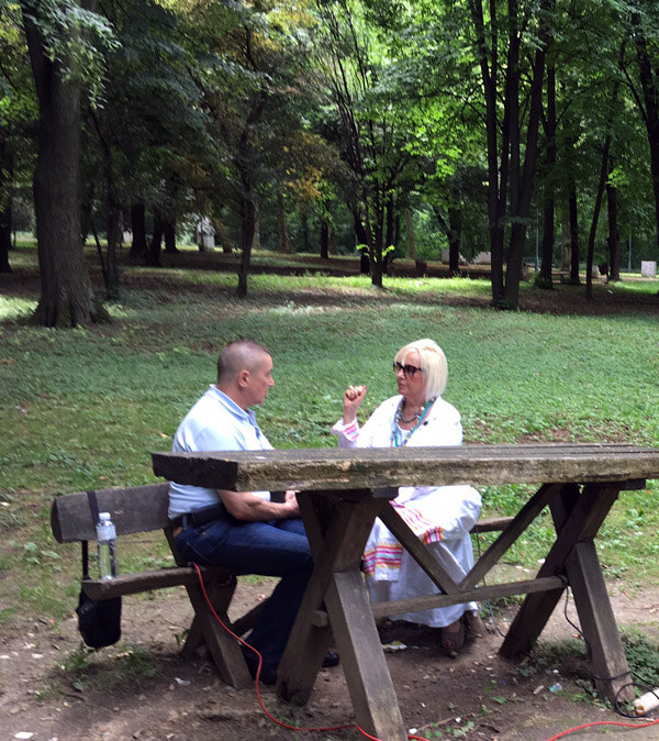 Dr Vladimir Kovčin, onkolog, i Mira Adanja-Polak